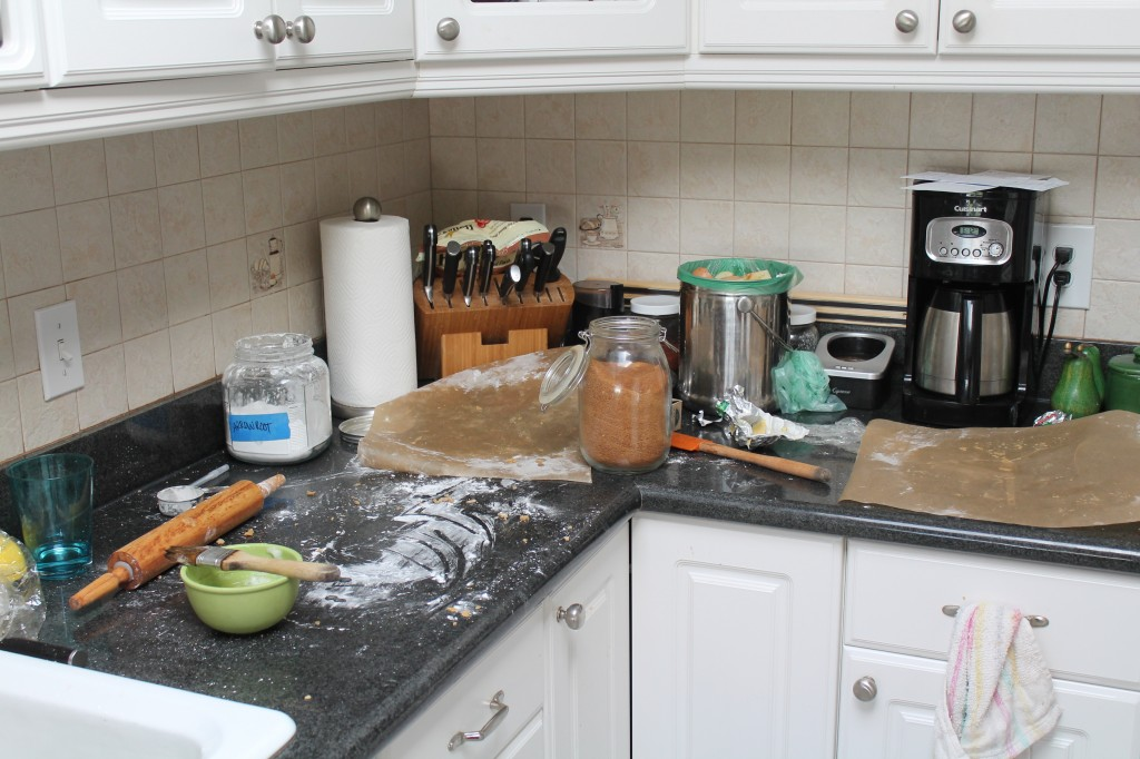 the kitchen will get remodeled, someday.