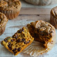 pumpkin chocolate chip muffins (or bread) – nut-free