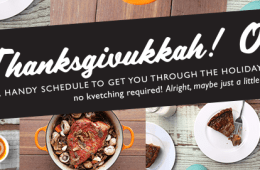 a handy guide to help you survive Thanksgivukkah
