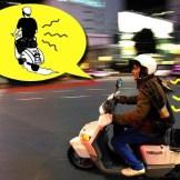 Come guidare lo scooter con il mal di schiena