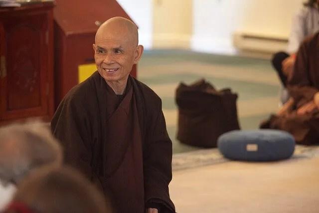 Thich Nhat Hanh – Il discorso dopo gli attentati dell'11 settembre 2001
