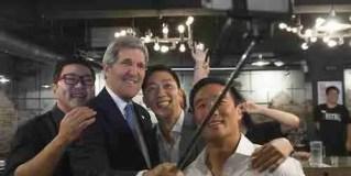John Kerry at Vatos