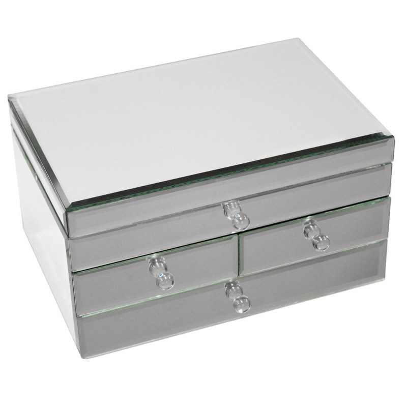 Large Of Mirrored Jewelry Box