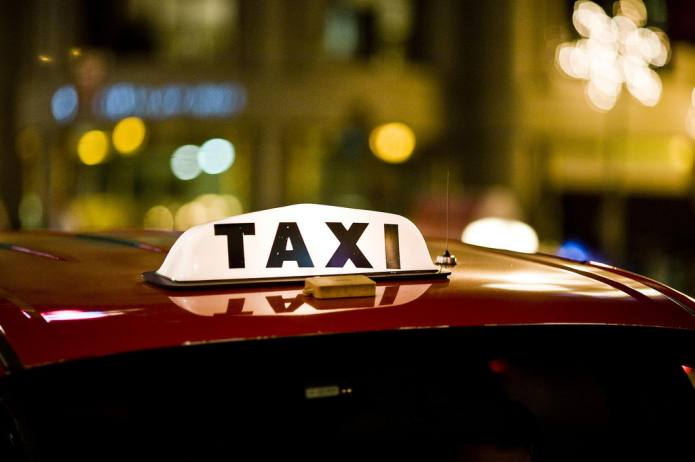 Taxi, Union Square, 2007 - Thomas Hawk
