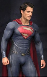 new superman suit2 183x300 Henry Cavill / Superman Suit Draws Laughs At DragonCon Atlanta