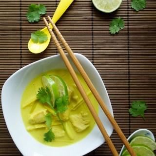 Spicy Lemongrass Chicken Curry (Paleo, AIP) - Zesty Paleo