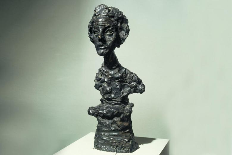 """""""Giacometti: Pure Presence"""" at National Portrait Gallery"""