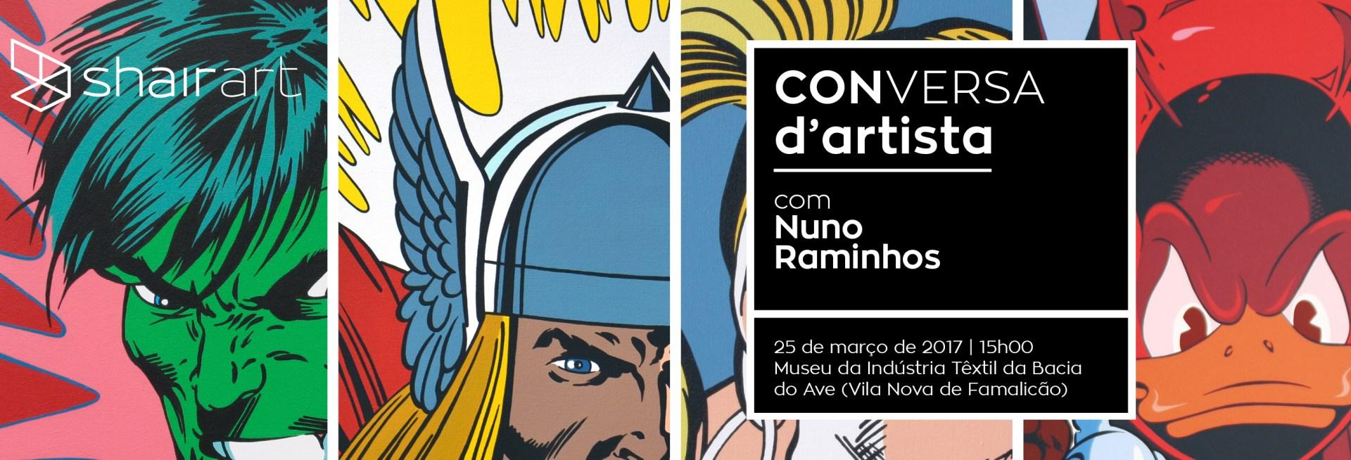 ODE TO THE SUPERHEROES by Nuno Raminhos