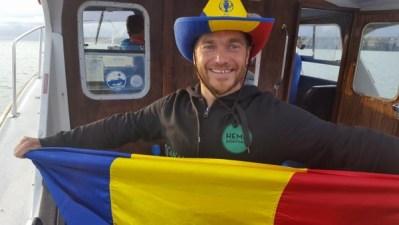 Mirajul Dunării, o altă provocare irezistibilă pentru înotătorul Avram Iancu