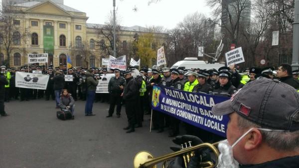 protest-politie
