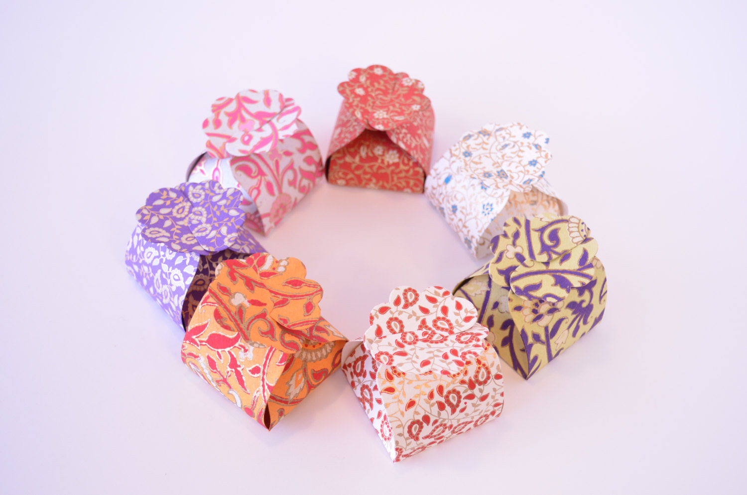 5 small favor boxes ring box wedding gift box indian wedding favor box diwali party indian wedding sweets holiday favor box ornament wedding favor boxes