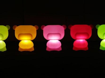 żelkowe lampy