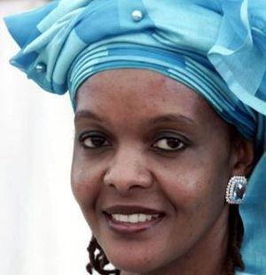 The former State House typist, now First Lady of Zimbabwe, Grace Mugabe