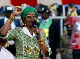 Grace moves into Mujuru territory