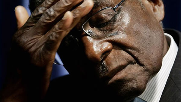 Robert Mugabe ruling Zimbabwe from hospital bed, says opposition