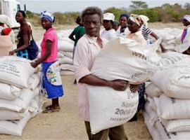 UN food aid in drought-hit Zimbabwe stalls on cash shortages