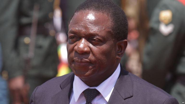 Zimbabwe's new president dissolves Mugabe cabinet