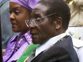Zimbabwe Follows Robert Mugabe's Health by Following His Plane