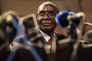 Mugabe is now frail and party officials openly discuss his successor
