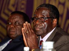 I won't protect corrupt officials, says Mugabe