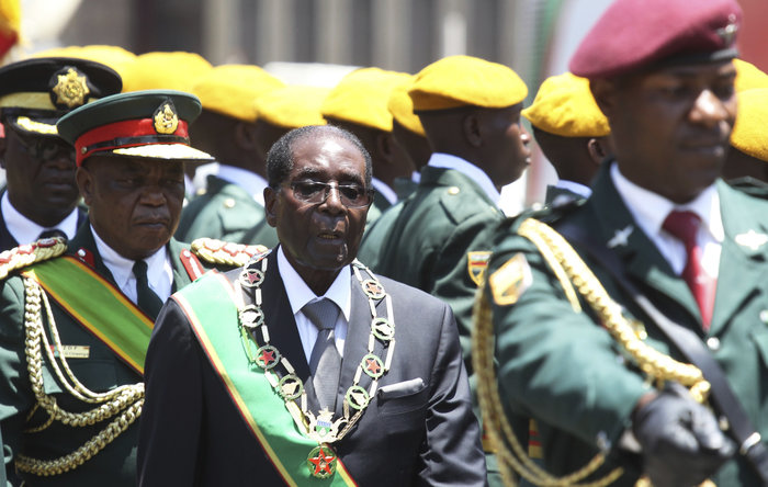 Obama's 'hostile goodbye' to Mugabe