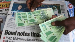 Zimbabwe has relied on 'bond notes' since economic mismanagement rendered its own currency worthless