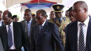 Mugabe makes first public appearance