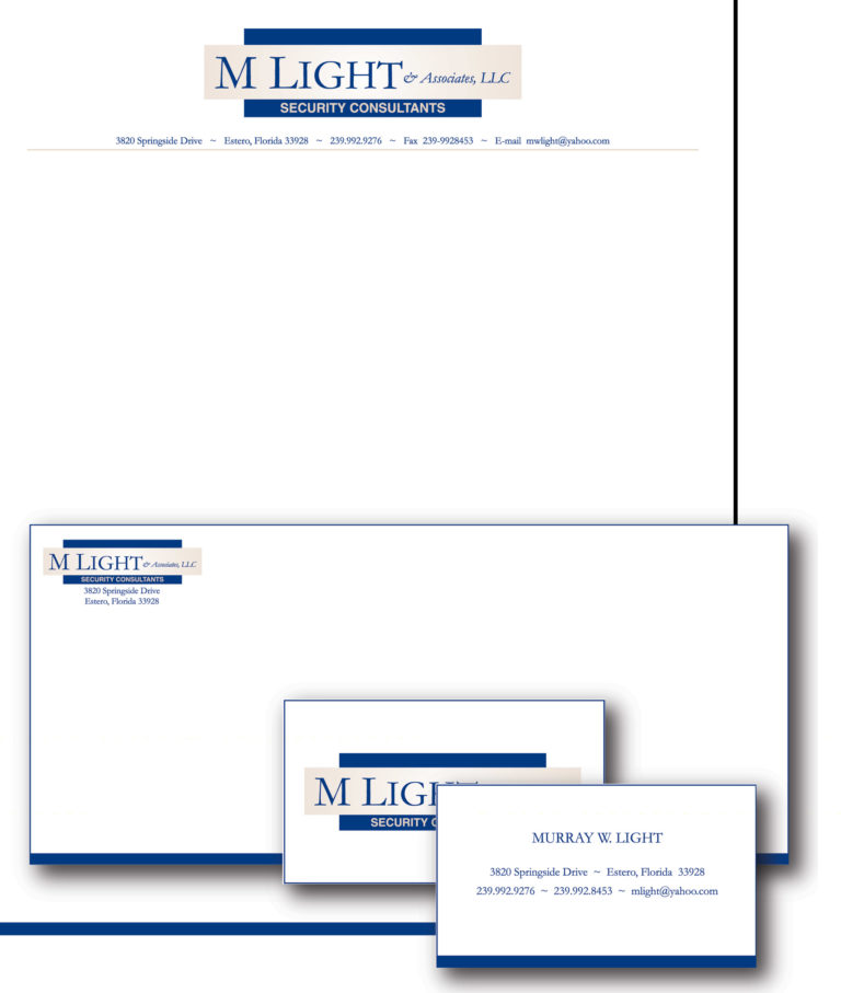 Identity Package for Murray Light and Associates LLC