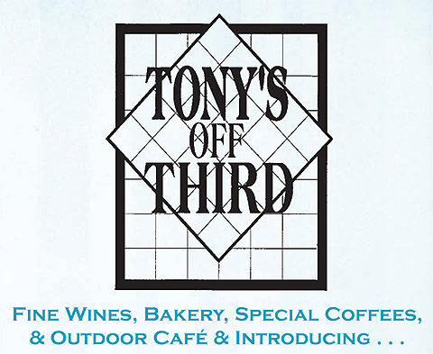 Tony's Off Third Logo