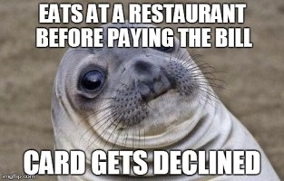 It Still Haunts Me Every Time I Go To Pay