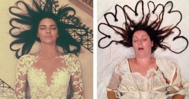 She Just Revealed How Ridiculous The Internet Is By Recreating Celebrity Selfies