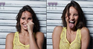 A Photographer Handed His Friends A Glass Of Wine (And This Is What Happened)