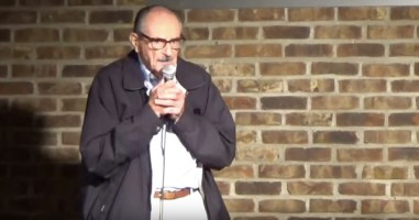 This 89-Year-Old Man Tries Stand-Up For The First Time, And He Totally Kills It