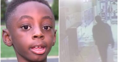 Man Randomly Punches 7-Year-Old Who Falls To The Ground In His School Hallway