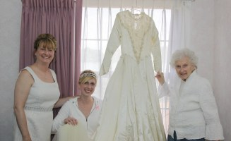 This Wedding Dress Has Been Worn By Three Generations Of Brides