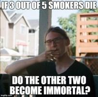 Intellectual Smoker
