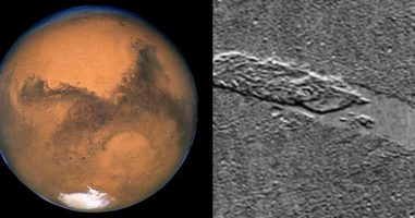 Judging From These Satellite Photos, Something Creepy Is Happening On Mars...