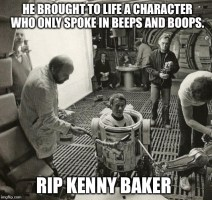 Image tagged in kenny baker,rip,star wars