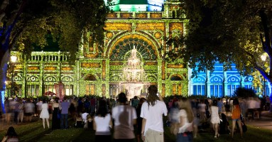 17 Iluminations That Kept Melbourne Wide Awake On White Night