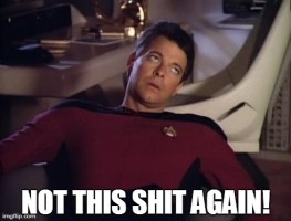 Riker eyeroll