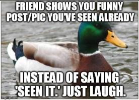 don't be THAT reddit guy/gal