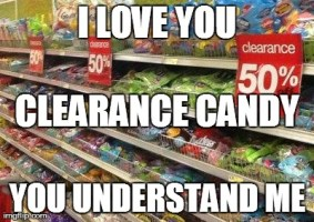 Clearance Candy
