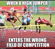 Track and field confusion