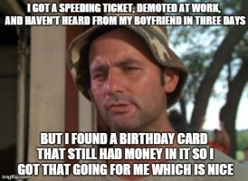 It was a 20 too...