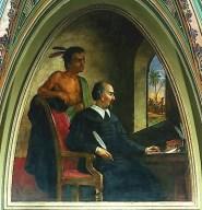 Chronicler, Bartolome de las Casas. Photo: www.voiceseducation.org