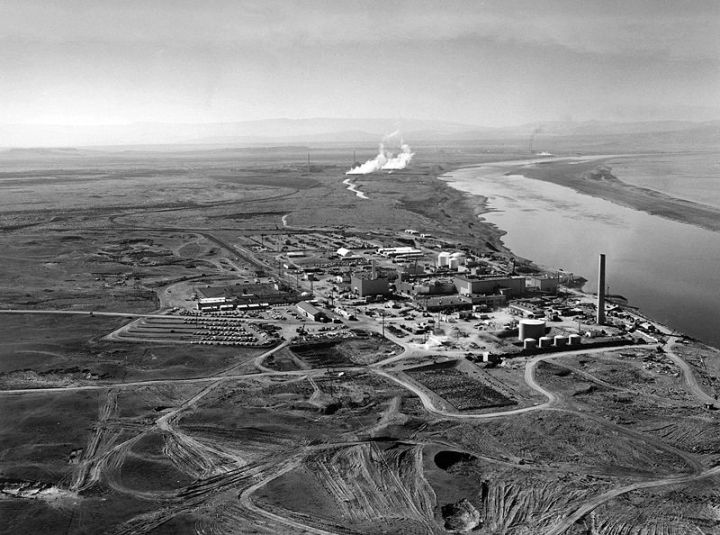 The Hanford Nuclear Reactor. Photo from the United States Department of Energy.