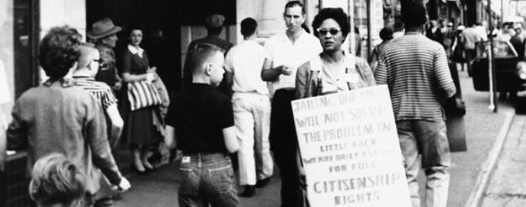 Daisy Lee Bates, Civil Rights Activist