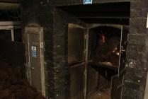 Piętro niżej cały czas pali się w piecu