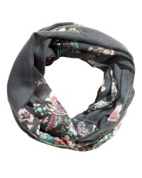 h&m infinity patterned scarf