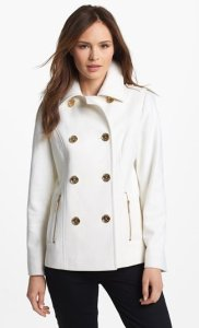 Michael Kors Double Breasted Peacoat NAS